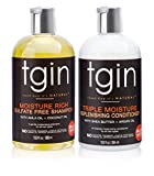 tgin Moisturizing Shampoo + Conditioner Duo For Natural Hair - Dry Hair - Curly Hair