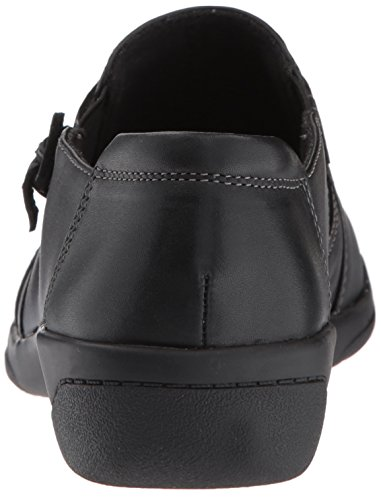 CLARKS Women's Cheyn Madi Slip-on Loafer Black Smooth Leather shopping online clearance free shipping latest collections free shipping visit new Pc8KZ