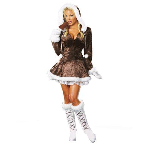 Eskimo Cutie Adult Costume - (Cute Eskimo Halloween Costumes)