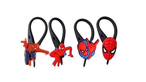 [AVIRGO 4 pcs Soft Zipper Pull Charms for Backpack Bag Pendant Jacket Set # 16-3 by Hermes] (Doctor Watson Costume)