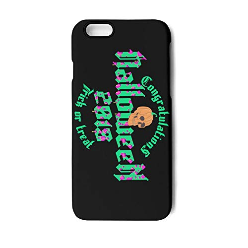 (iPhone 6 case Vintage Halloween 2018 Poster Shockproof Anti-Scratch Protective case Durable Waterproof for iPhone 6s)