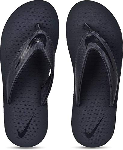 e3d2ffa1d292 Nike Men s Thunder Blue Blackened Blue Chroma Thong 5 Flip Flops  (N833808-410)  Buy Online at Low Prices in India - Amazon.in