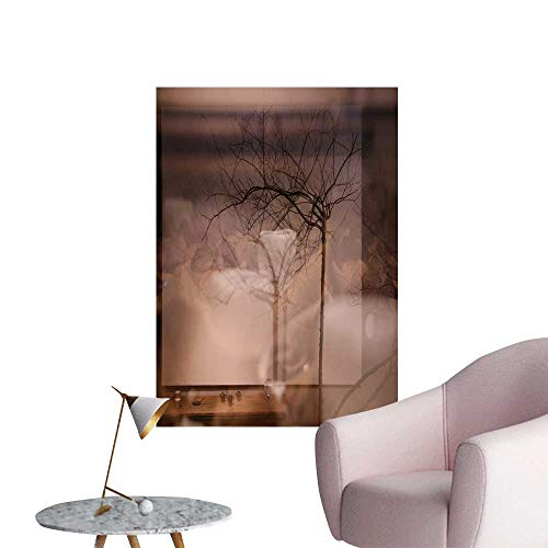 SeptSonne Wall Stickers for Living Room True Color Museum Vinyl Wall Stickers Print,28
