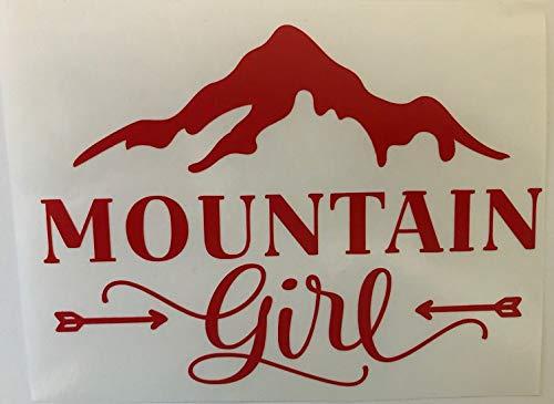 Mountain girl vinyl decal sticker