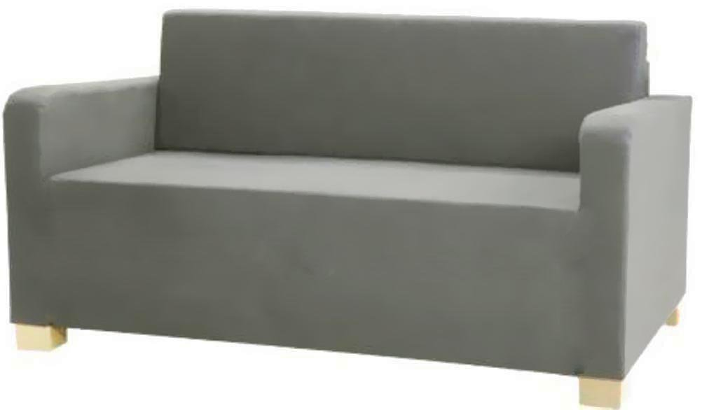 reputable site a98f5 43bc6 HomeTown Market The Solsta Sofa Bed Cover Replacement is Custom Made for  IKEA Solsta Cover Only. A Solsta Sofa Bed Slipcover Replacement. (Gray)