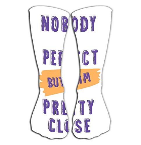 YILINGER Compression Socks Women Knee high or Men - Best Stockings for Running, Medical,19.7