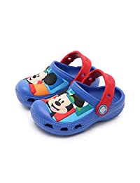 ROKIDS Kids' Cartoon Clogs Boys Girls EVA Sports Water Shoes Beach Shoes