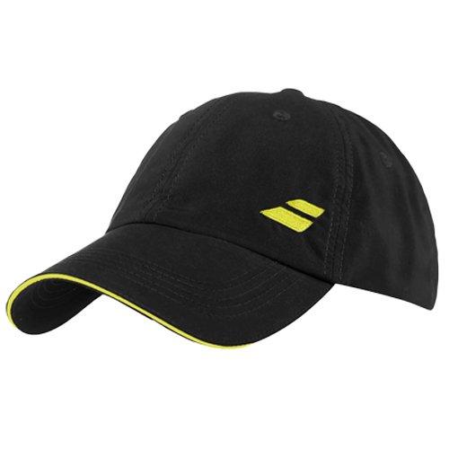 Babolat Hat (Babolat Basic Logo Cap-One Size Fits All-Black)