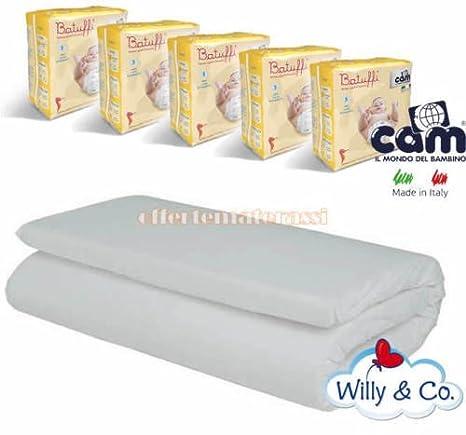 Colchón Willy & Co Camping + 100 Pañales Cam Talla 3 midi 4 ...