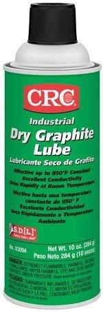 16 OZ AEROSOL DRY GRAPHITE LUBE by CRC