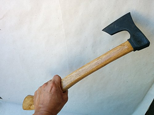 Viking type light bearded axe / hatchet with handle by mapsyst by mapsyst