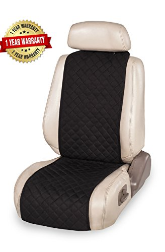 Unique Car Seat Cover + Bonus = Universal Protector for You / 1-pc Set (Black) (Cute Car Seats Cover)
