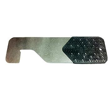 Tarjeta de apertura negra para puertas metalicas y ...