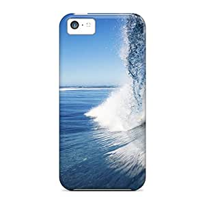 New Female Surfer Tpu Skin Case Compatible With Iphone 5c