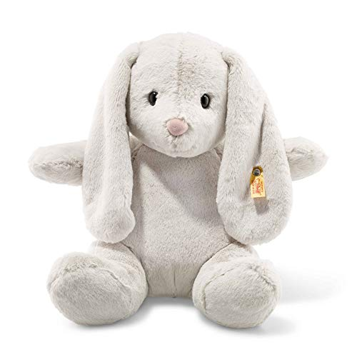 Steiff Soft and Cuddly Light Grey Rabbit - 16