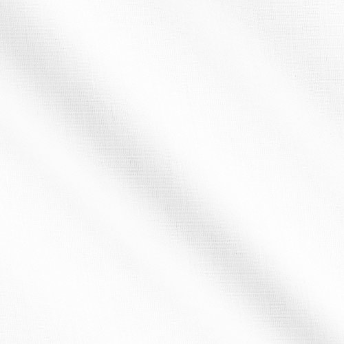 (Robert Kaufman 0363774 Kaufman Breezy Wide White Poplin Fabric by The Yard)