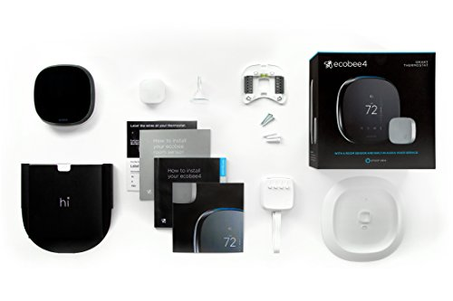 ecobee4-Alexa-Enabled-Thermostat-with-Sensor-Works-with-Amazon-Alexa