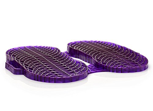 Purple Seat Cushion Everywhere - Seat Cushion For The Car Or Office Chair - Can Help In Relieving Back Pain & Sciatica Pain