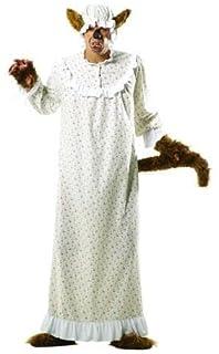 Boser Wolf Im Oma Nachthemd Marchenkostum Fur Fasching Halloween
