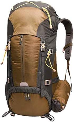 50Lアウトドアスポーツハイキングバックパック、 ダイヤモンドラティスファブリック、 ロッククライミング/観光、 男性と女性