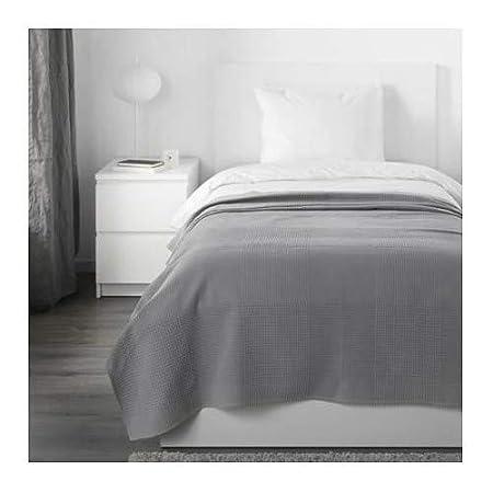 Copriletto singolo IKEA INDIRA grigio 150x250 cm