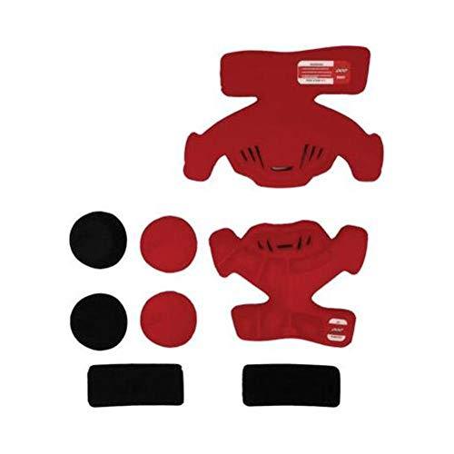 POD Unisex-Adult K300 Knee Brace Pad Set (Red, One Size) (Left)