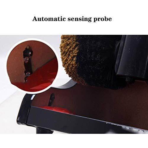 NBVCX Accueil AccessoiresKit de Brosse de Nettoyage pour cireur de Chaussures électrique Entretien et Maintenance des Chaussures en Cuir Kit de Cirage pour Chaussures (Couleur: Gold3) 3