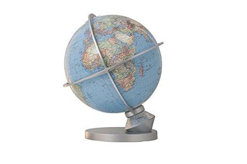 203052-9 Columbus DUO Planet Erde: DUO Kartenbild, handkaschiert, unbeleuchtet politisch, beleuchtet physisch, Kunststoff silbermetallic, beleuchtet, ... Indexmarke zur Tageseinstellung Spielzeug – Globe, 7. Oktober 2014 Columbus Verlag 395524332X Columbu
