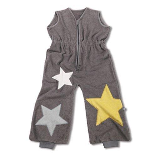 Baby Boum Superstar Cotton Rich Appliqued Terry 1 Tog Sleeping Bag Cum Jumpsuit (Pingu Grey) by Little Helper