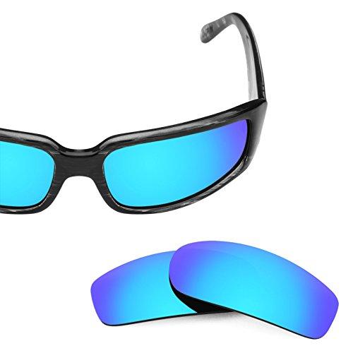 múltiples Hielo Von Azul Sham — Polarizados Zipper Mirrorshield repuesto Opciones Revant Lentes de Elite para OqfTx
