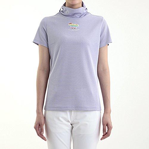 MU SPORTS(エム ユースポーツ) 2016ss レディスウェア L半袖シャツ パープル XLサイズ 701U4406   B01AWDR7I2