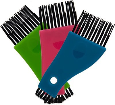 Luxor Professional Brush & Comb Cleaner Assorted Colors b...