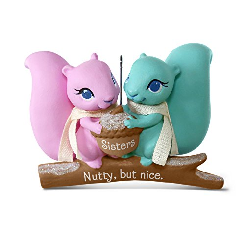 Hallmark Keepsake 2017 Nutty But Nice Sisters Squirrels Christmas Ornament ()