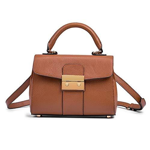 Bag Shoulder Brown Satchel Lady Pu Bags Liuxc RUAZXW4U