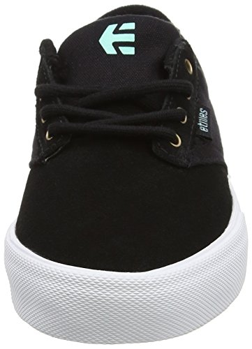 Etnies Women's Jameson Vulc W's Skateboarding Shoes Black (Black/Teal) ioubsoyTt