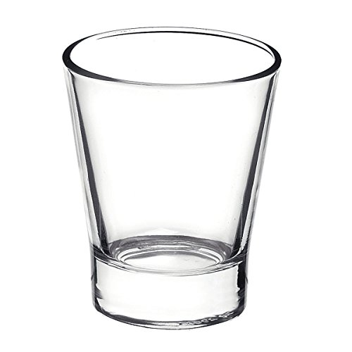 Bormioli Rocco Caffeino Espresso Shot Glasses, Clear, Set of 6