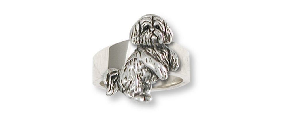 Lhasa-Apso-Jewelry-Sterling-Silver-Lhasa-Apso-Ring-Handmade-Dog-Jewelry-LSZ20-R
