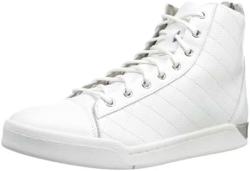 Diesel Men's Tempus Diamond Sneaker, White