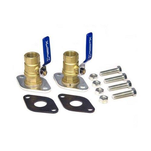 Grundfos 96806131 GF 15/26 1'' Isolation Valve Kit (2) Bronze NPT