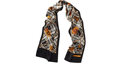 Lauren Ralph Lauren Women`s Crest Silk Scarf (Cream (109), One Size)