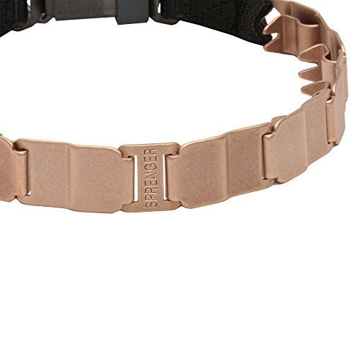 Herm Sprenger Neck Tech Curogan Dog Collar with Click Lock Buckle - 50050 014 (68) - Size 24 inch (60 cm)