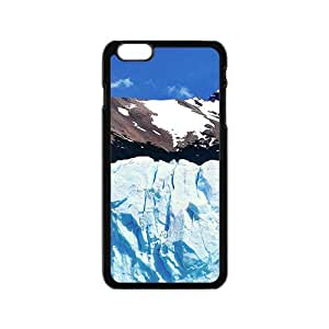 Snow Mountains Black Phone Case for Iphone6