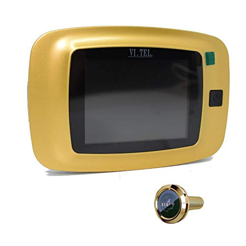 VI.TEL. e0399 40 Digital Door Viewer, Gold