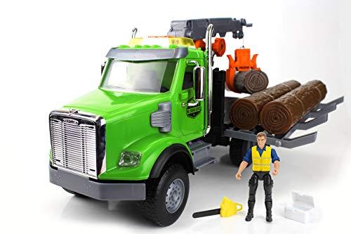 Tree House Kids Freightliner Log Truck DLX