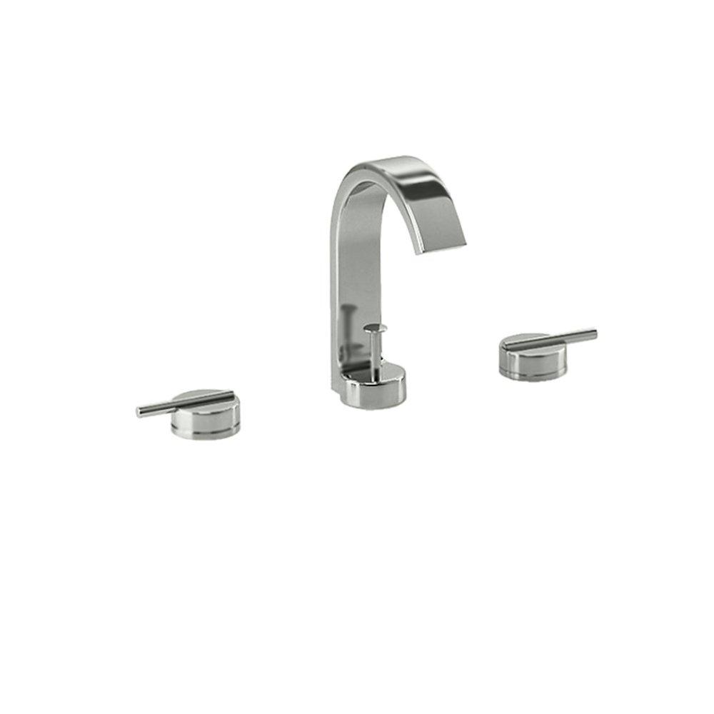 Jado 831/003/355 Glance Widespread Lavatory Faucet, UltraSteel ...