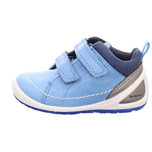 Ecco Jungen Lauflernschuh Biom Lite Infants 752591, blau (Sky Blue/True Navy 58954), EU Blau