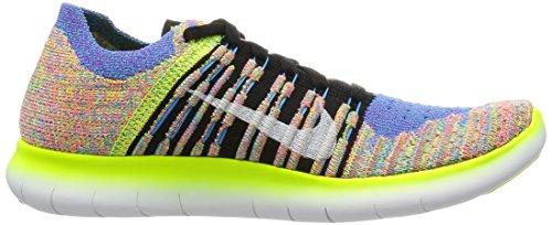 Nike bl Pnch Flyknit Free White RN Glow Corsa Scarpe hypr Wmns Nero da Bianco Donna Black PUrw6P