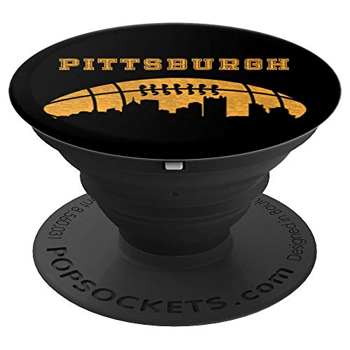 (Pittsburgh Football - Design Series - PopSockets Grip and Stand for Phones and Tablets)
