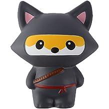 Anboor Squishies Ninja Jumbo Slow Rising Squishies Kawaii Scented Soft Animal Toys