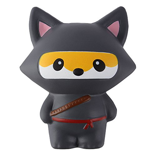 Anboor Squishies Ninja Jumbo Slow Rising Squishies Kawaii Scented Soft Animal Toys